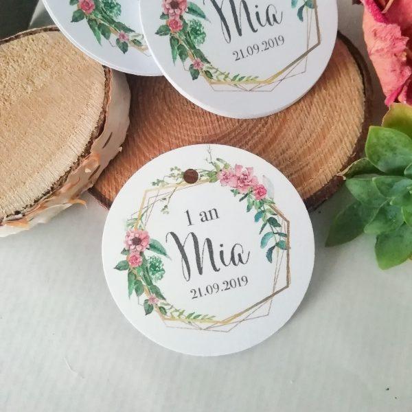 étiquettes mariage bohème