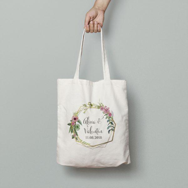 totebag mariage bohème