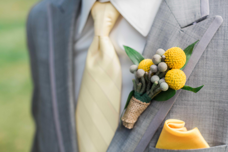 boutonnière jaune