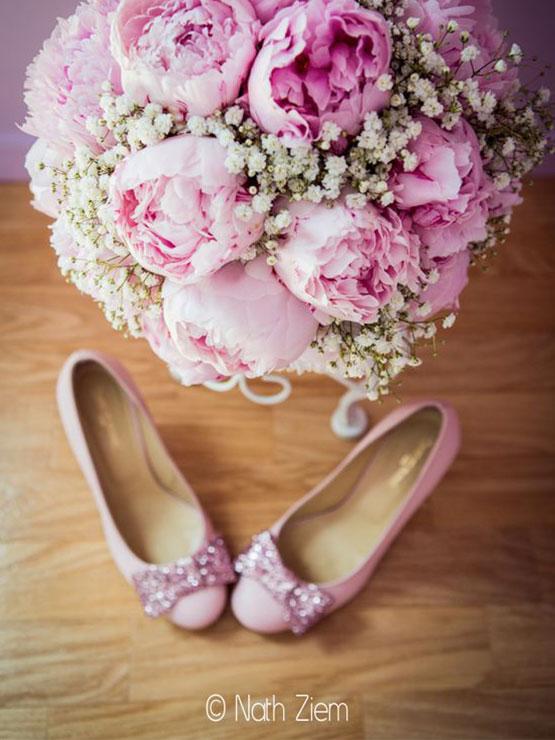 bouquet de mariée - crédit photo Nath Ziem