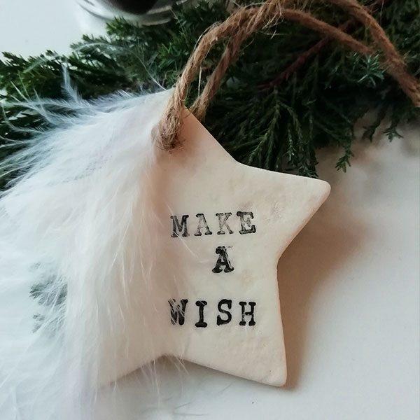 décoration étoile Make A Wish