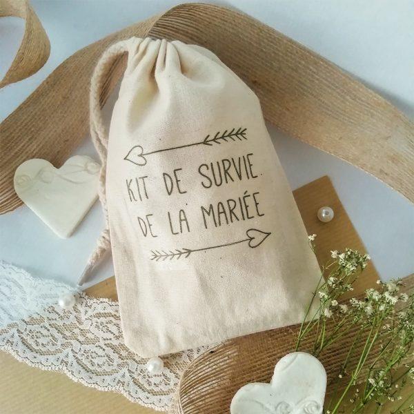 kit de survie mariée
