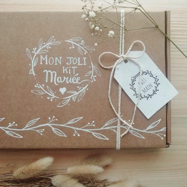 Emballage cadeau kit mariée