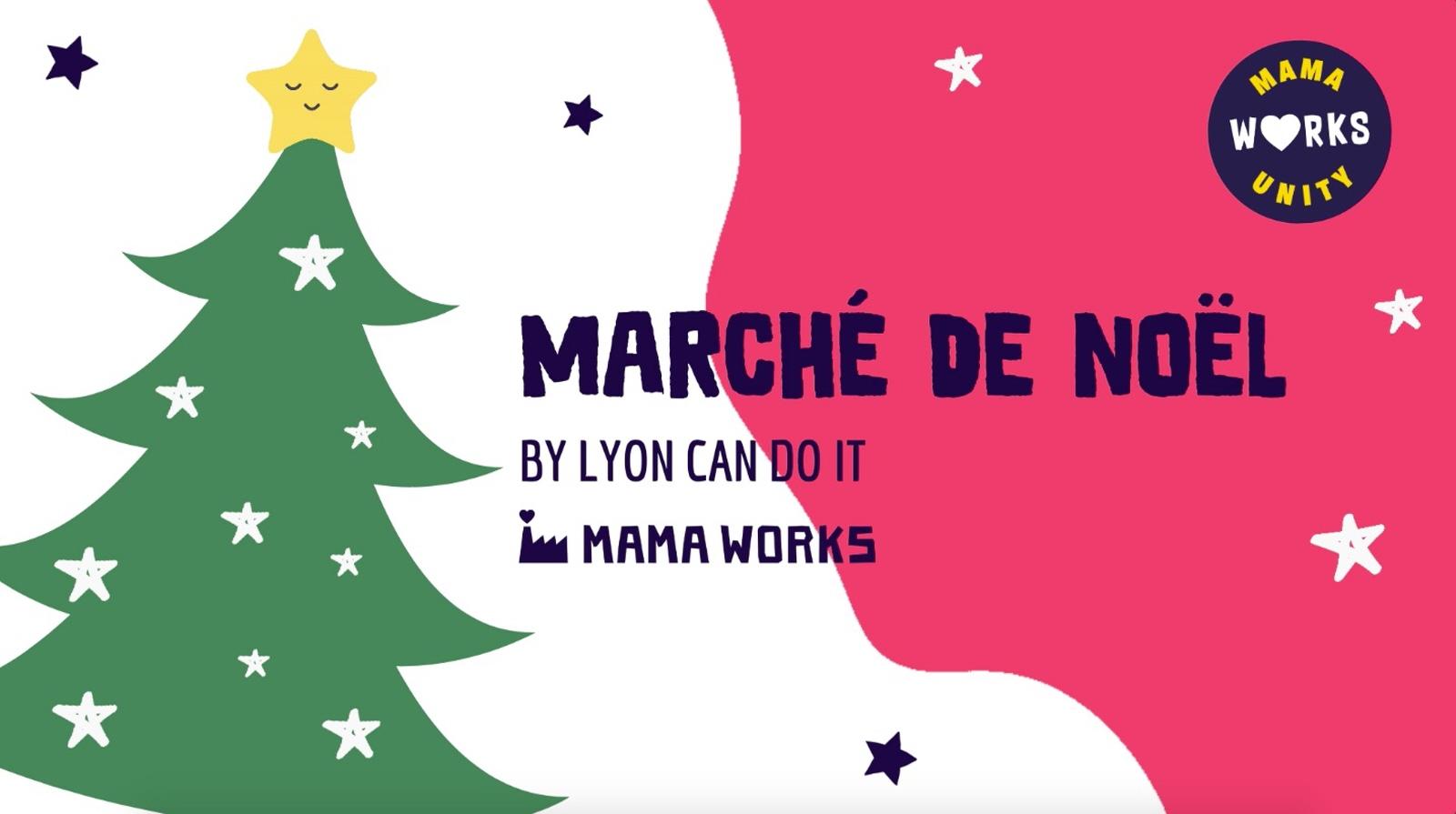 Marché de Noël au Mama Works