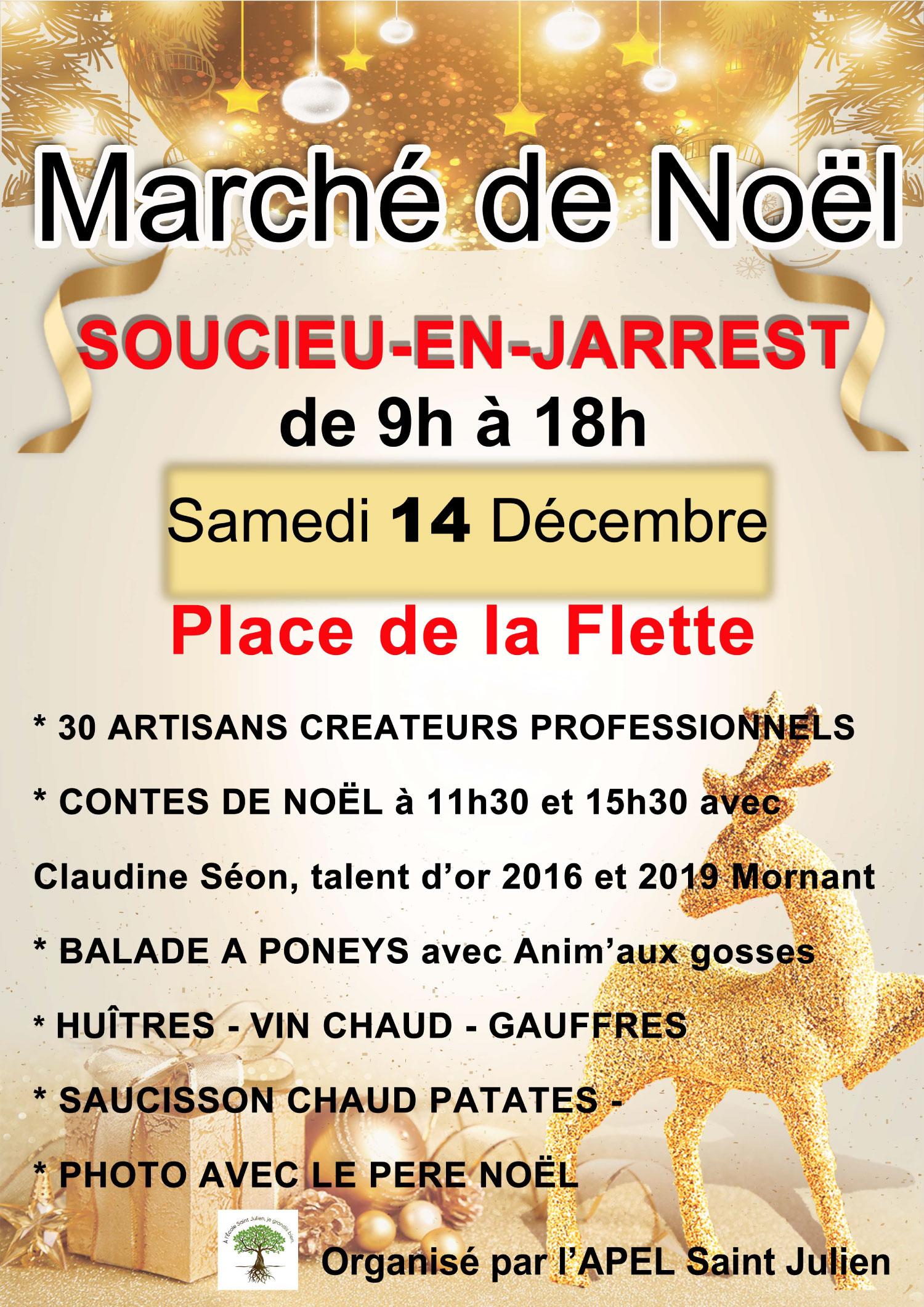 Marché de Noël de Soucieu en Jarrest