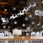 illustration de l'article je décore mes vitres pour Noël