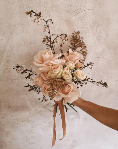 Bouquet de mariée - Fougère et Tralala
