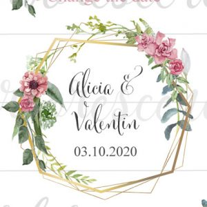 change the date -faire-part numérique mariage Bohème