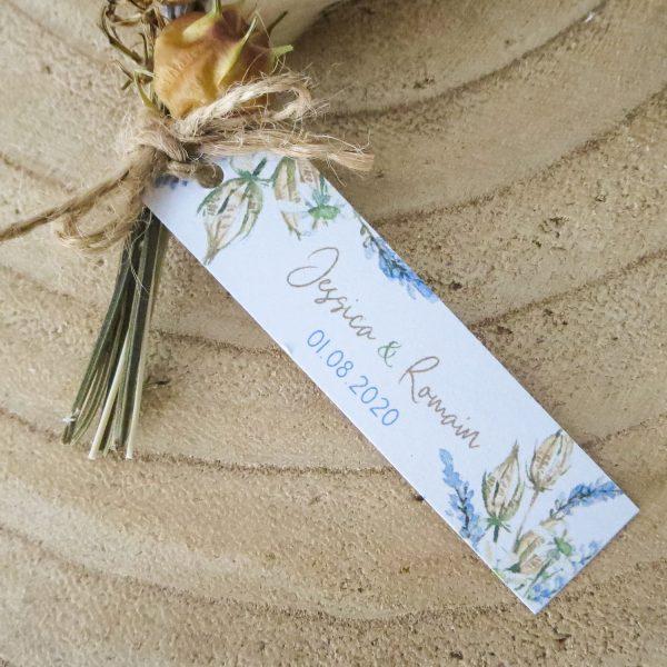 Mini-bouquet mariage Lavande