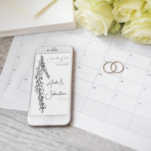 Save the Date mariage Brindille