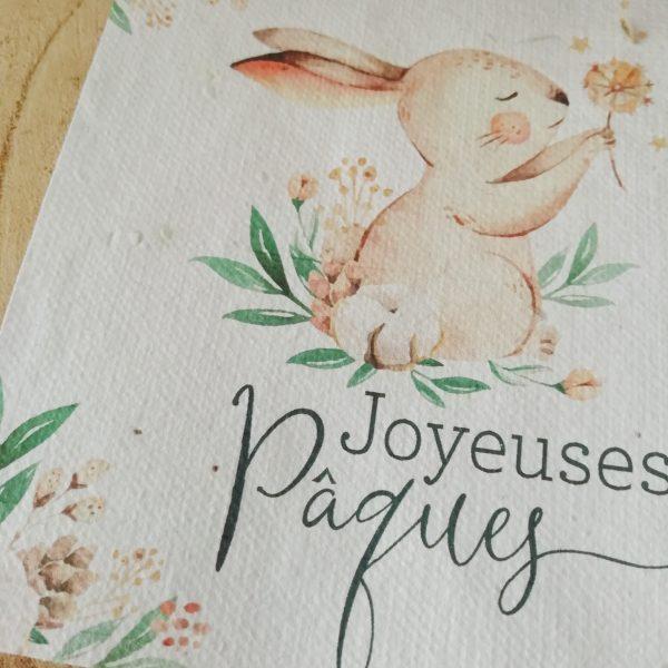 carte à planter de Pâques