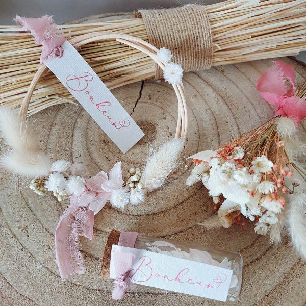 Mini collection fleurs séchées Bonheur