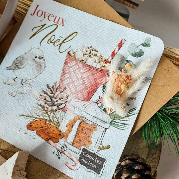 Carte de Noël ensemencée